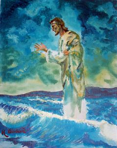 Christ Walking on the Water 2