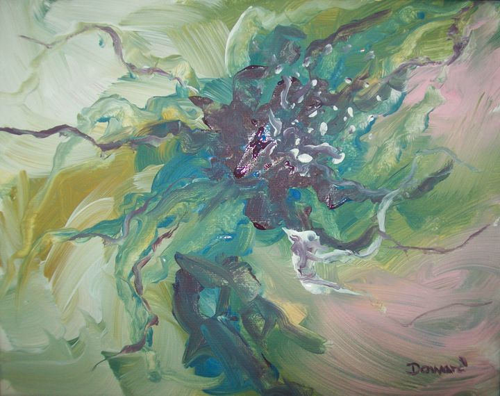 Abstract Floral 1 - Raymond Doward