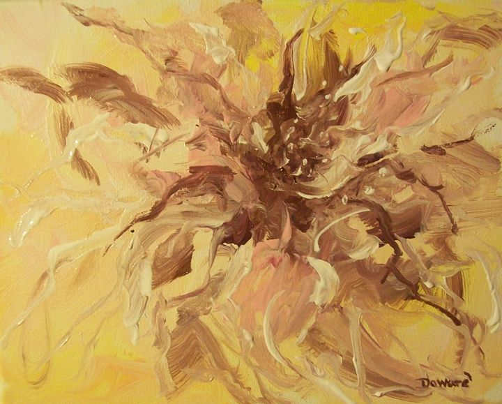 Abstract Floral 2 - Raymond Doward