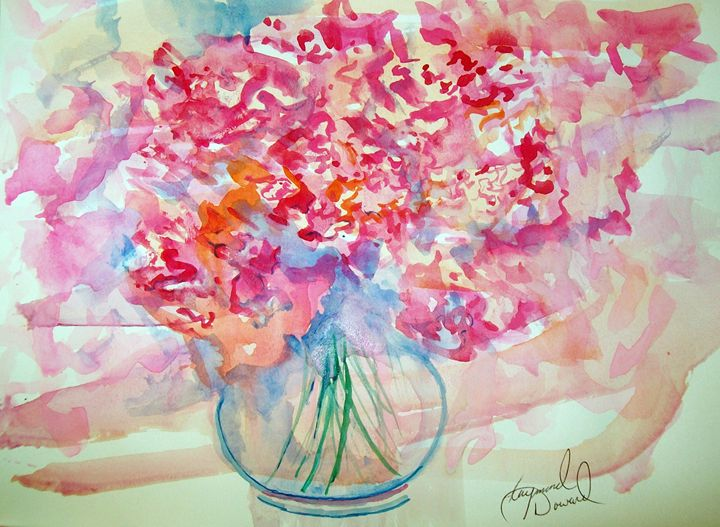 Watercolor Bouquet - Raymond Doward