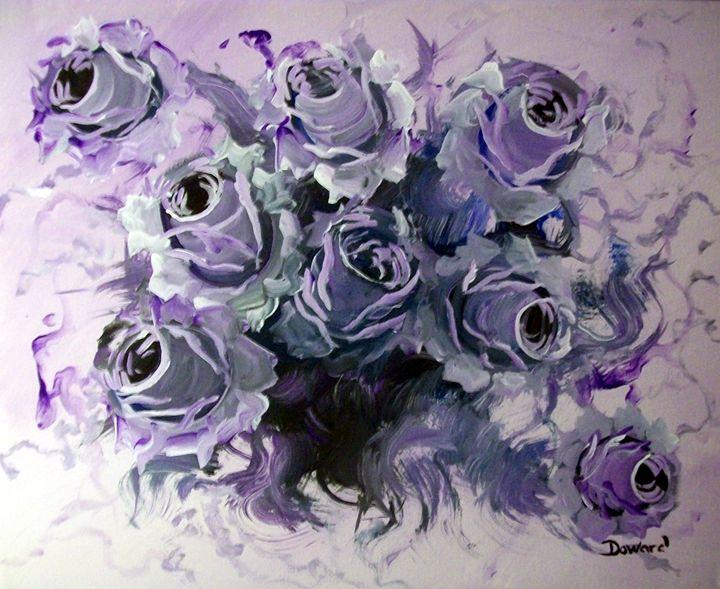 Violet Roses - Raymond Doward