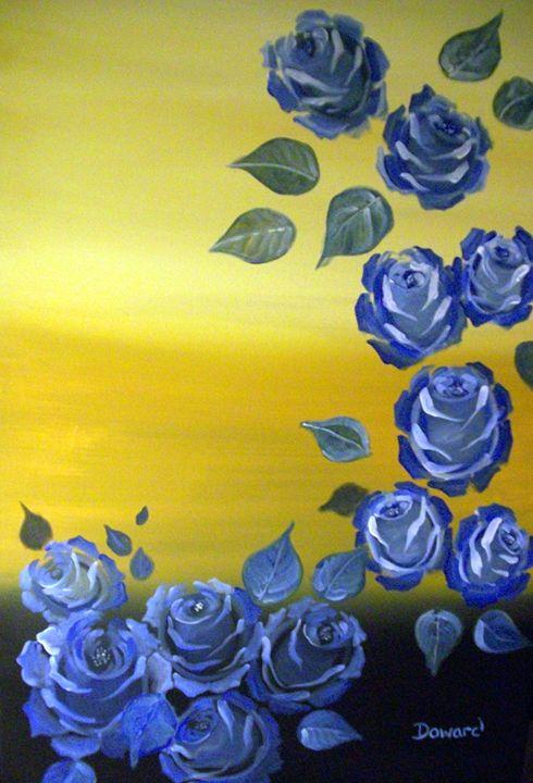 Blue Roses - Raymond Doward