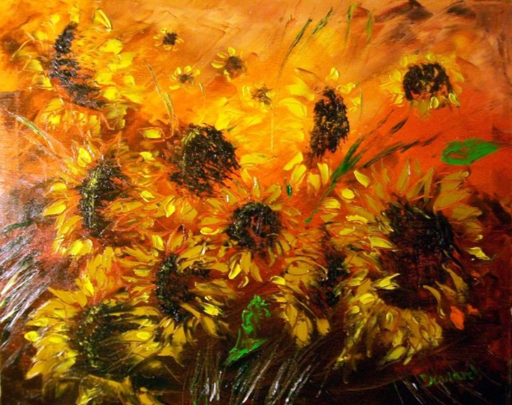 Sunflowers - Raymond Doward