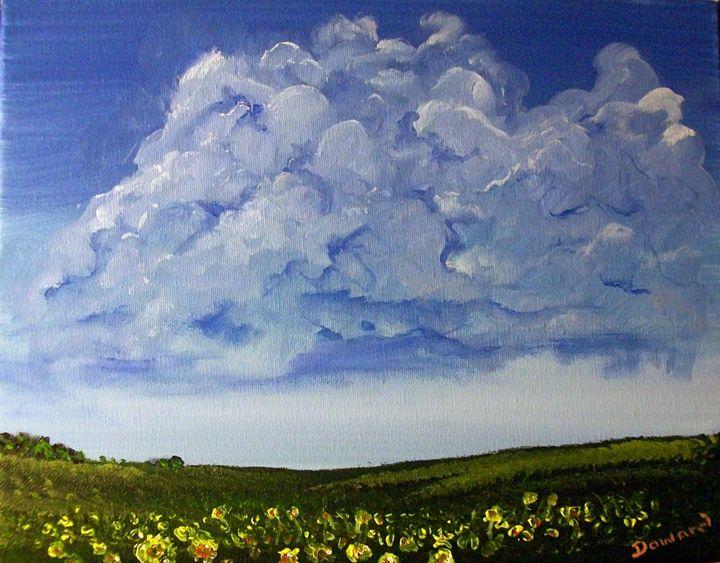 SUNFLOWER FIELD - Raymond Doward