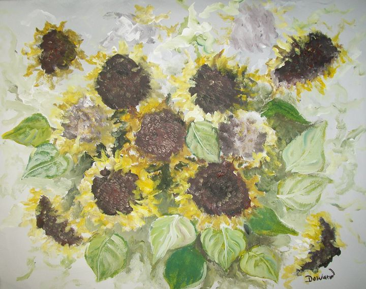 SUNFLOWERS BOUQUET - Raymond Doward
