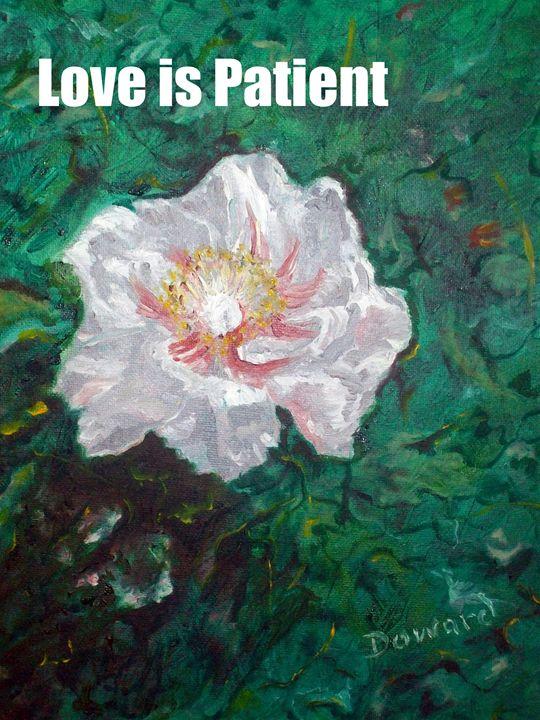 LOVE IS PATIENT - Raymond Doward