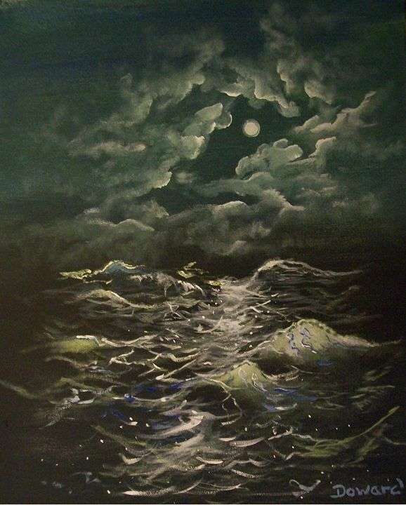 MOONLIGHT SEA - Raymond Doward