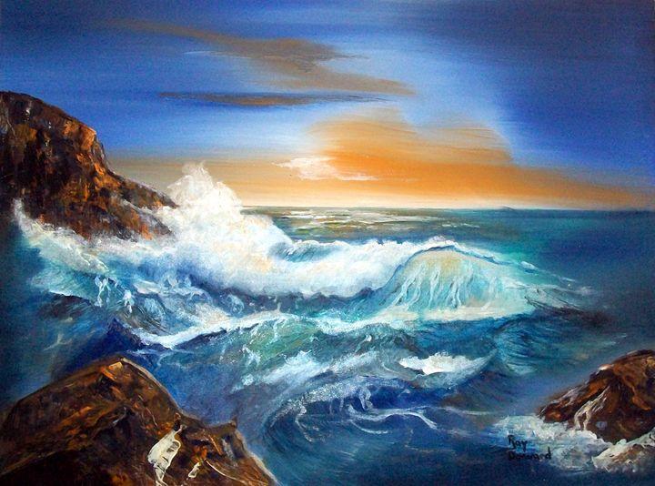 SUNSET SEA - Raymond Doward