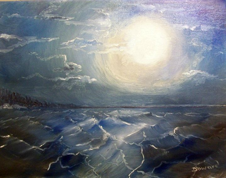 MOONLIGHT OCEAN - Raymond Doward