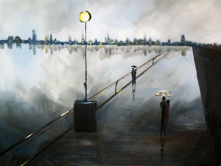 Over the Boardwalk - Raymond Doward