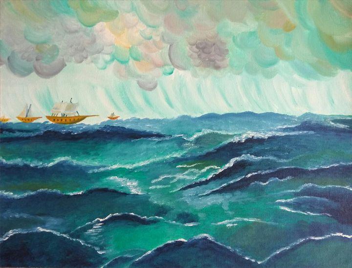 Sea waves - Shibani