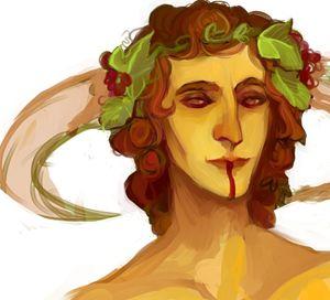 Dionysos Portait