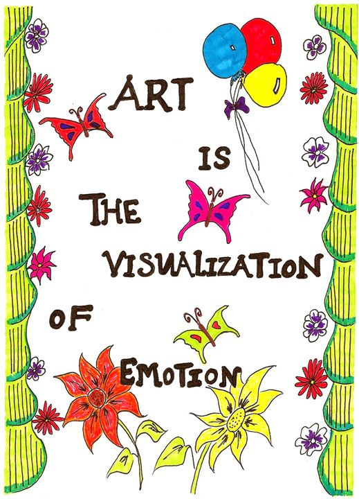 Visualisation of Emotion - Earthworks Art Designs and Photography