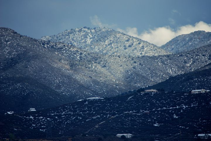 Snowcapped - Earthworks Art Designs and Photography