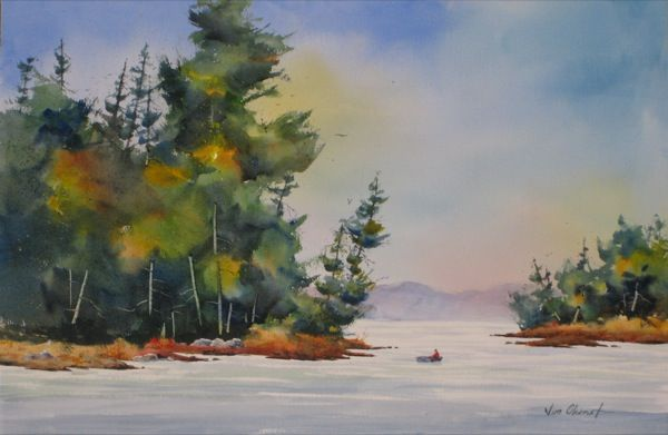 Sound of Silence - Jim Oberst Watercolors