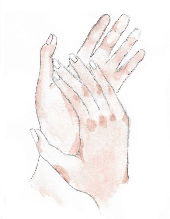 Holding hands - Jessica Leone