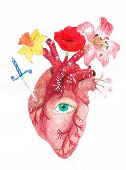 Sacred heart - Jessica Leone