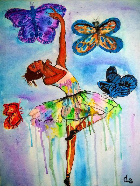 Dancing in the rain - MainethamanicArtist