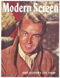 Alan Ladd - Modern Screen Cover 1945