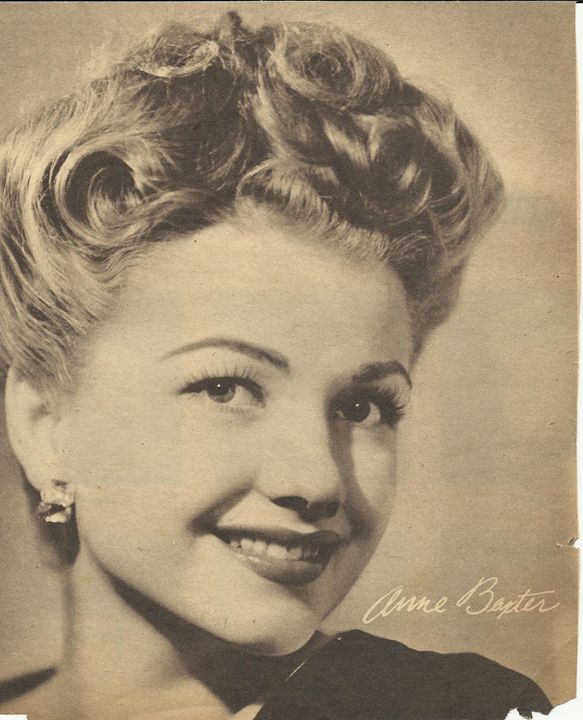 Anne Baxter 16 x 20 Print/Poster - Disabled Veterans Store