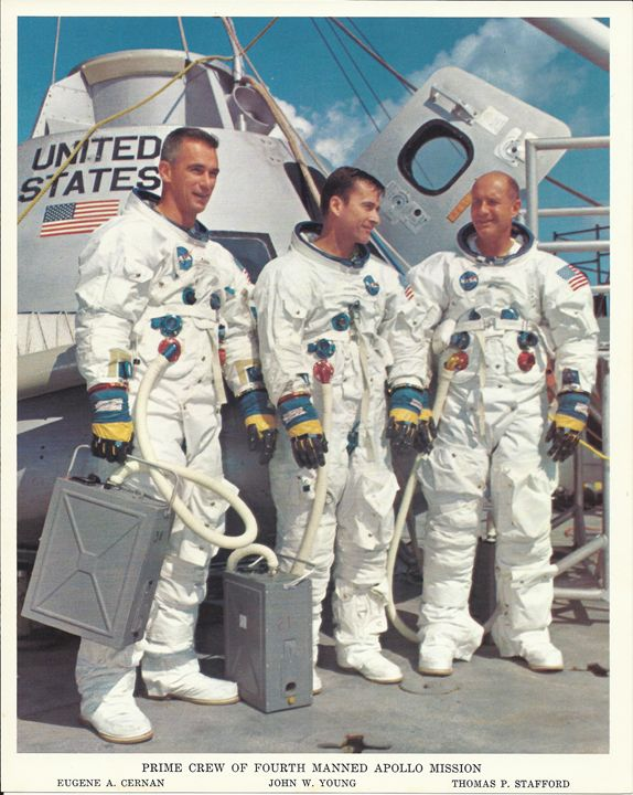 Prime Crew 4th Manned Apollo Mission - Disabled Veterans Store