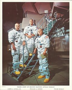 Prime Crew 2nd Manned Apollo Mission