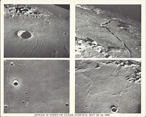 Apollo 10 Views of Lunar Surface