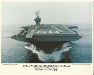 USS Dwight D. Eisenhower (CVN-69)