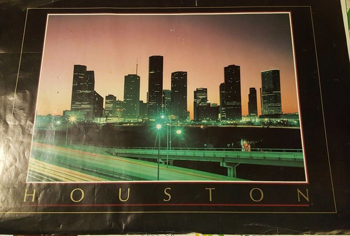 Houston Poster - Disabled Veterans Store