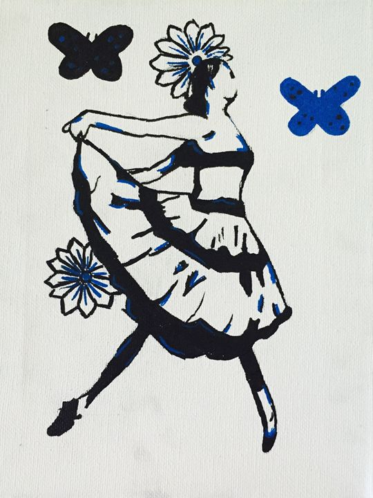 The ballerina - Lacy Lorick