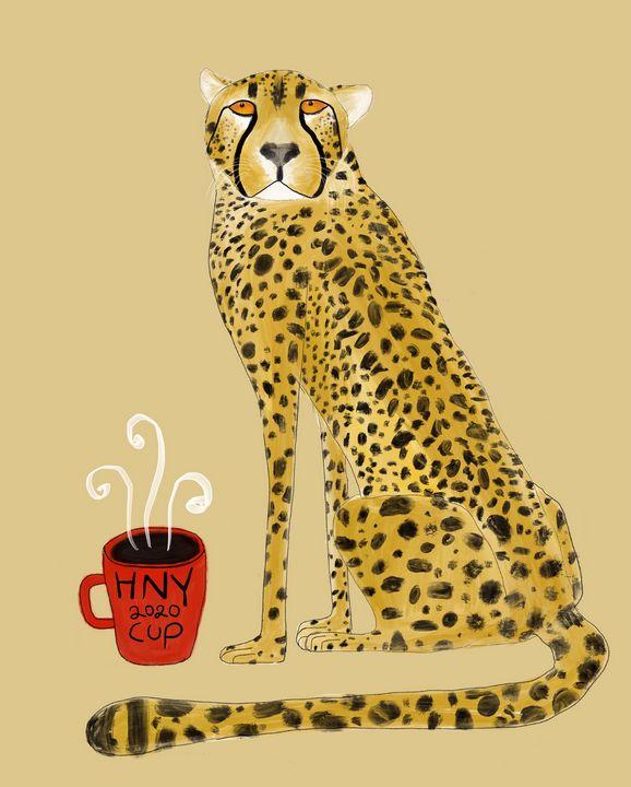 HNY leopard 2020 - Tippoppy