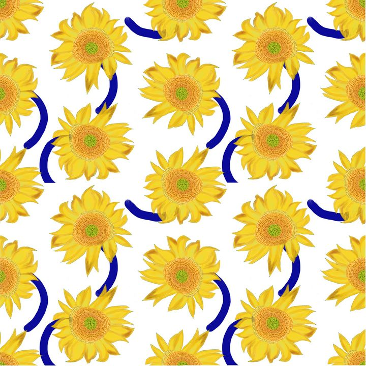 Sunflower pattern vol.4 - Tippoppy