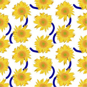 Sunflower pattern vol.4