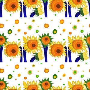 Sunflower pattern vol.5