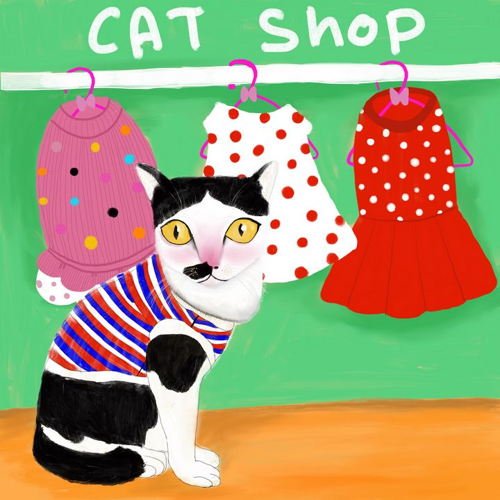 Cat shop - Tippoppy