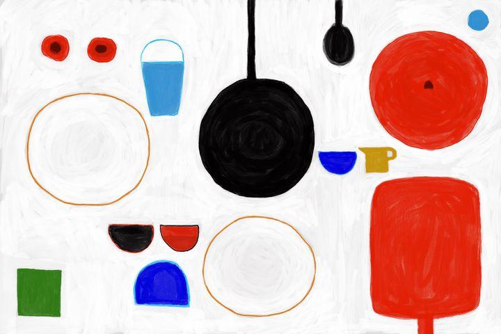 Enjoy dinner - Tip Art