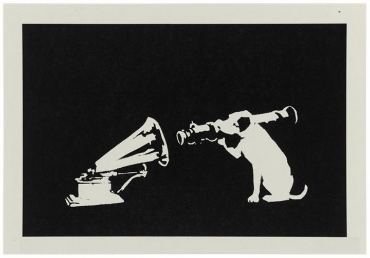 HMV - Black Pop Art Gallery