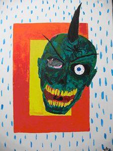 Zombie Skull Rat