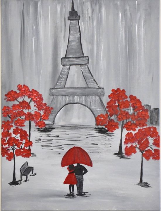 Romantic Night In Paris - ApiArt