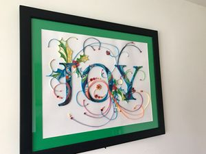 Joy -Quilled Art