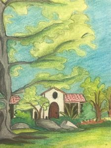 Summer House Landscape.. - Anu