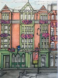 Dublin Inner city..