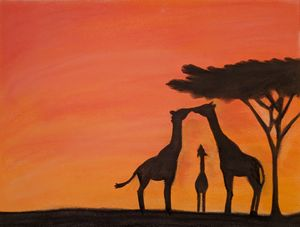 Giraffe family - Karen Smith