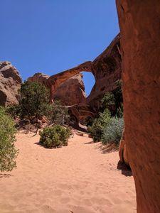 Hidden arch