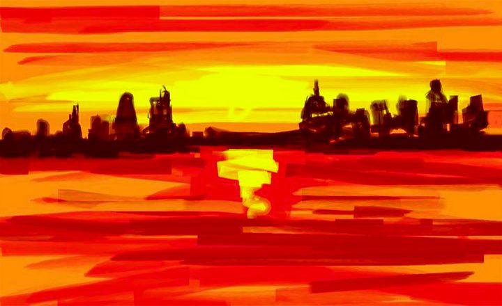 Sunset - Sushanta das
