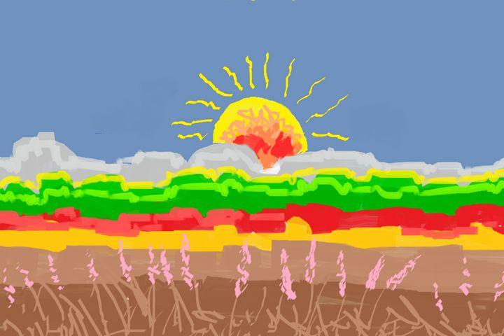 Morning sun - Sushanta das