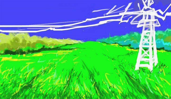 Green field - Sushanta das