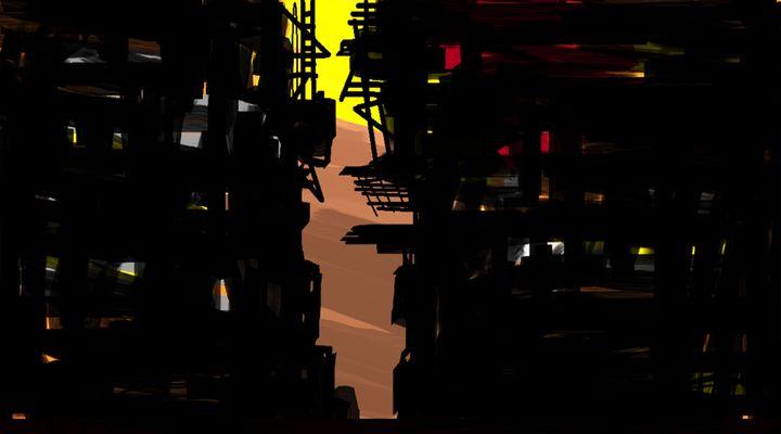 City lane - Sushanta das