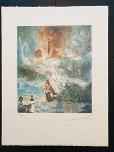 El Consejo ecuménico - Engravings&Lithographies