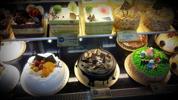 Colorful array of cakes - ARA RIVER CONTEMPORARY ART GALLERY